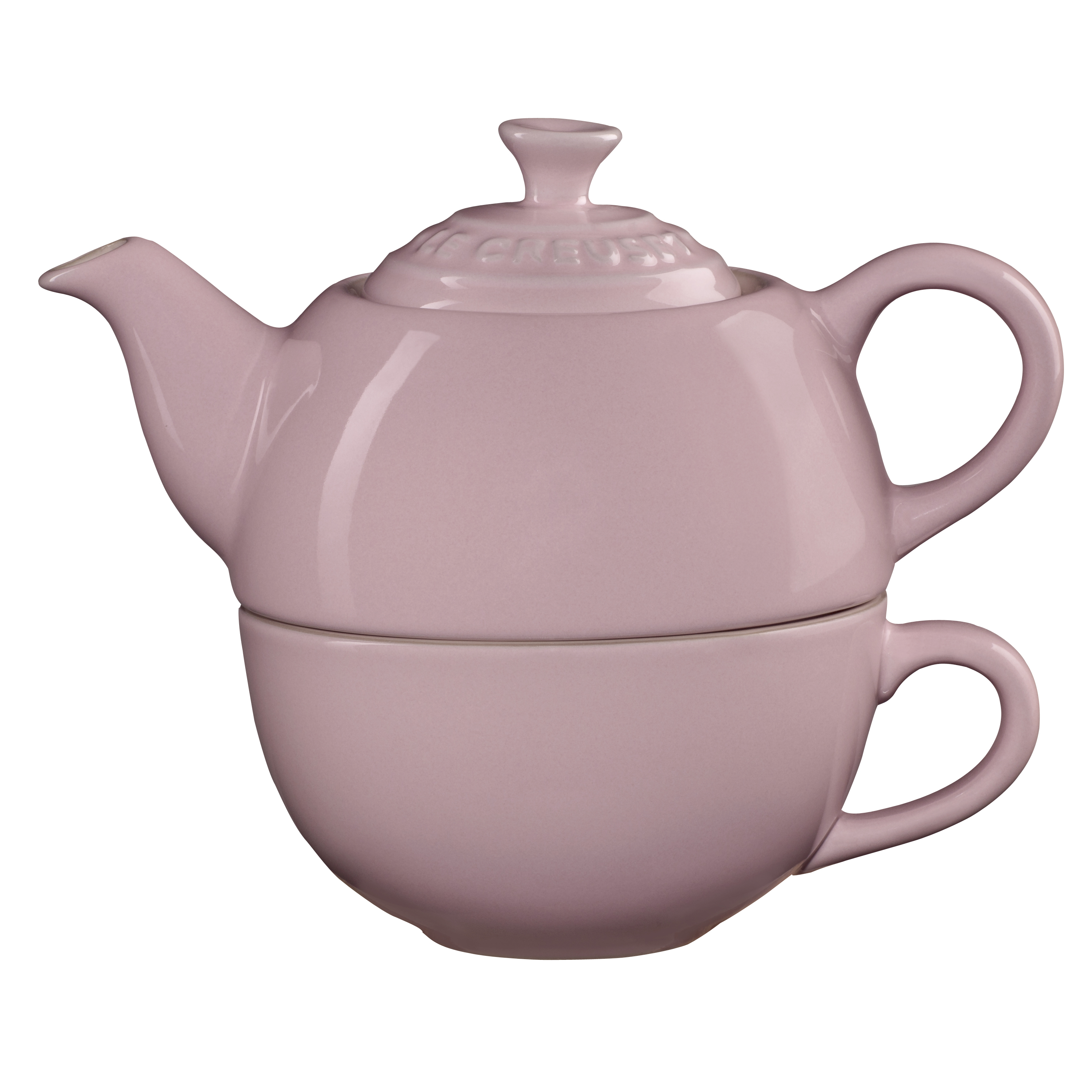 Le Creuset Hibiscus Stoneware Tea for One