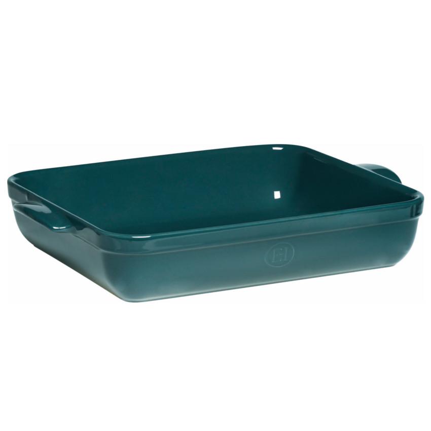 Emile Henry Blue Flame Ceramic 6.3 Quart Lasagna Roasting Dish