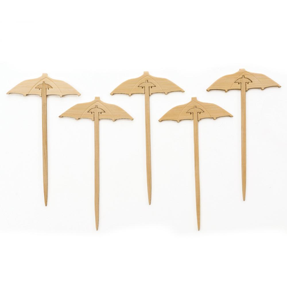 RSVP 50 Count Bamboo Umbrella Picks
