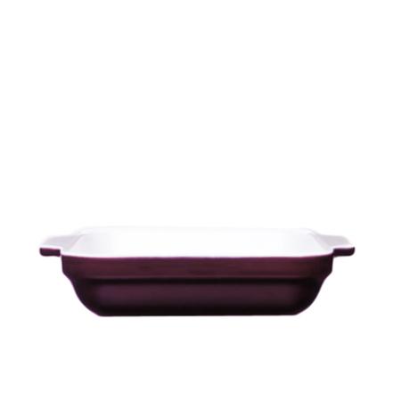 Emile Henry Figue Ceramic Square Baking Dish, 2.1 Quart