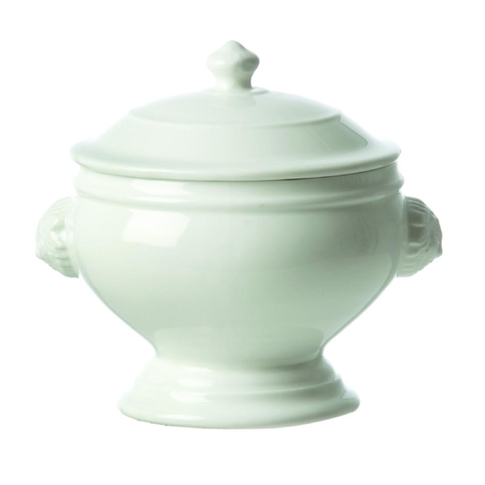 La Porcellana Bianca by Fortessa Tableware Solutions Chimera Lion Soup Tureen w/Lid  (22cm)