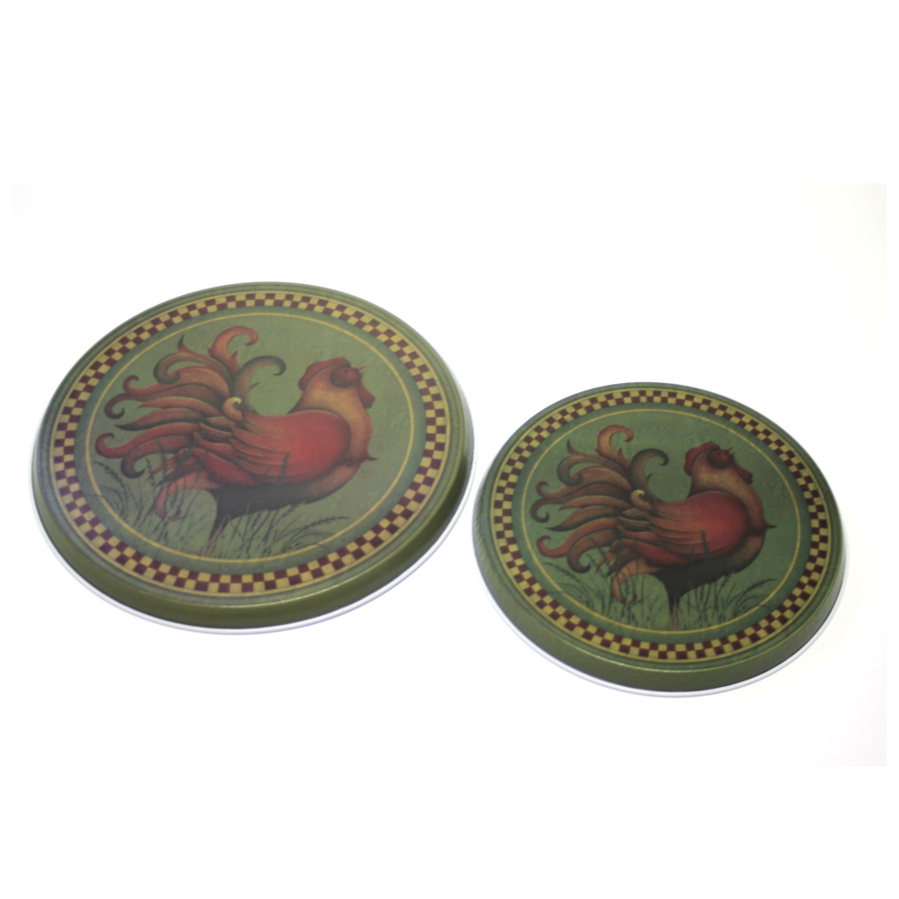 Range Kleen Rooster Burner Covers, Set of 4