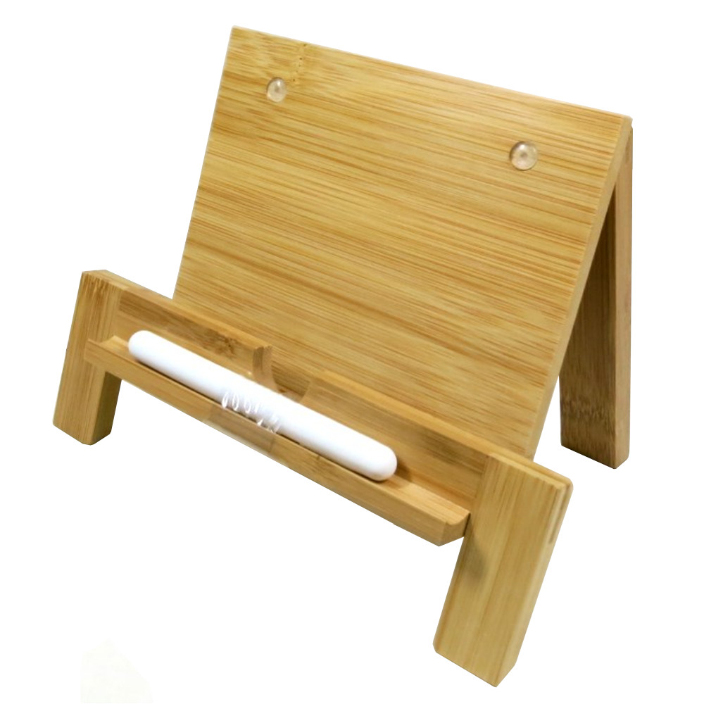 Umbra Old School Wood Tablet Stand with Stylus