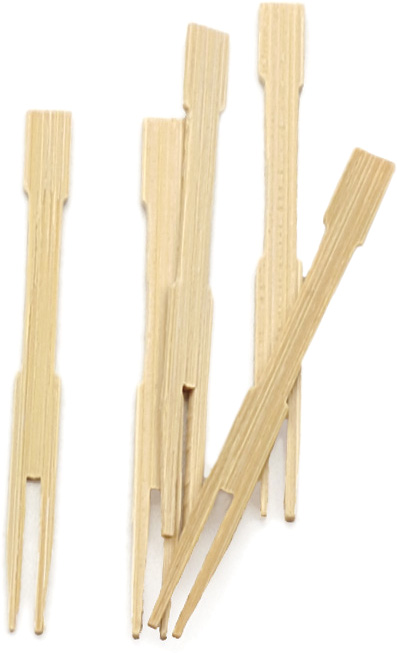 RSVP Bamboo Party Fork, Set of 72