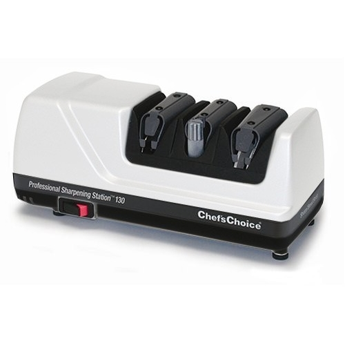 Chef's Choice 130 White Electric Knife Sharpening Station