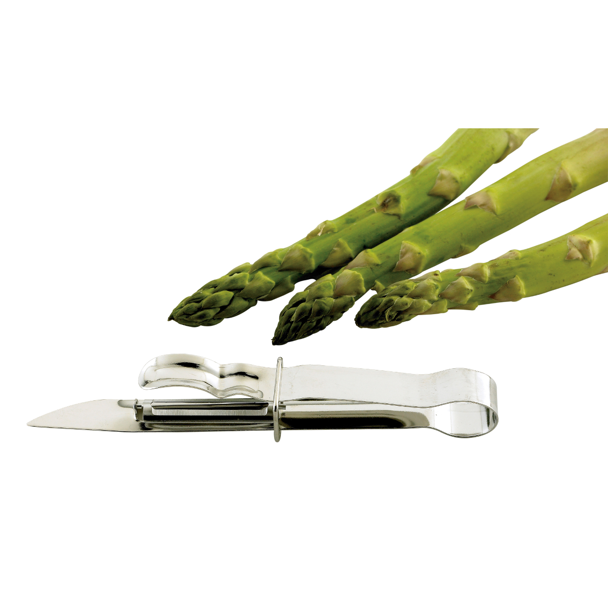 Stainless Steel Asparagus Peeler Chef Tool