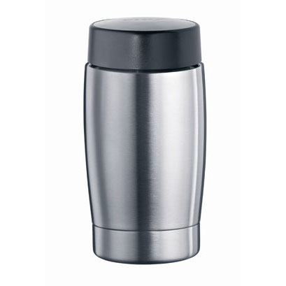 Jura Stainless Steel Thermal Milk Container with Lid, 14 Ounce