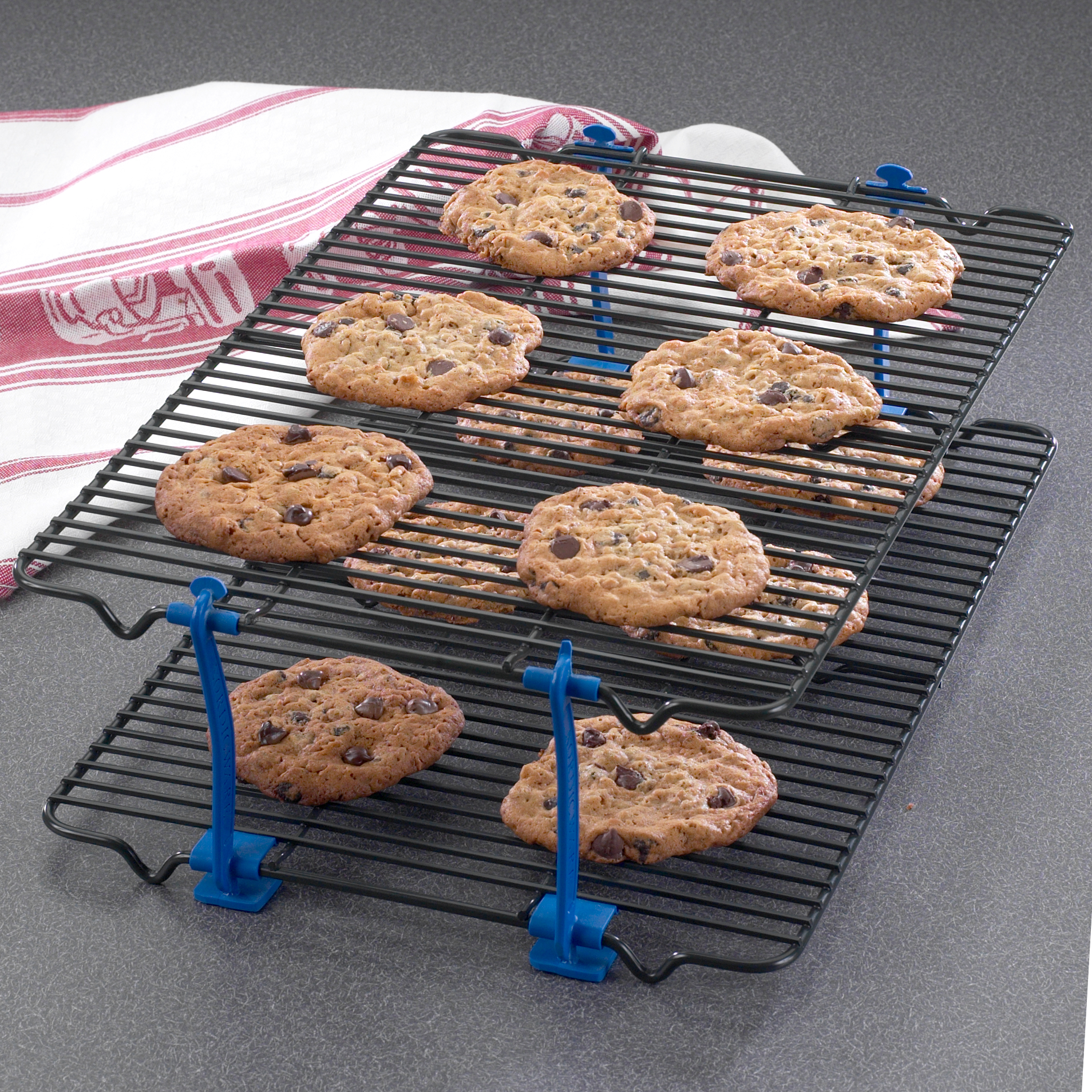 Nordic Ware Stackable Non-Stick Cooling Rack Set