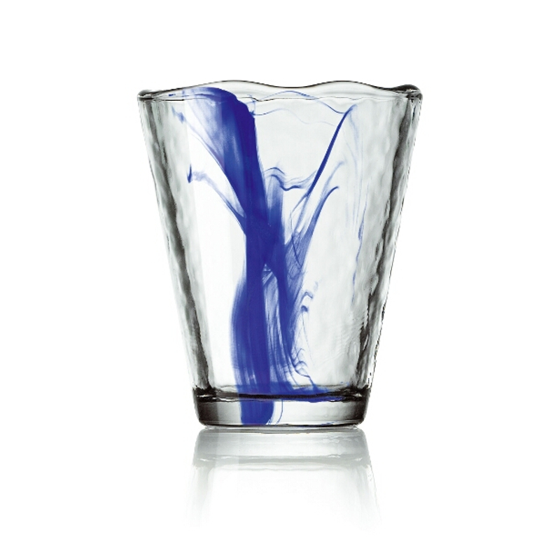 Bormioli Rocco Murano Cobalt Blue Water Glass, Set of 4