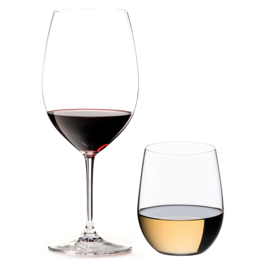 Riedel Vinum Bordeaux and O Viogner Wine Glass Set, Pay 4 Get 8