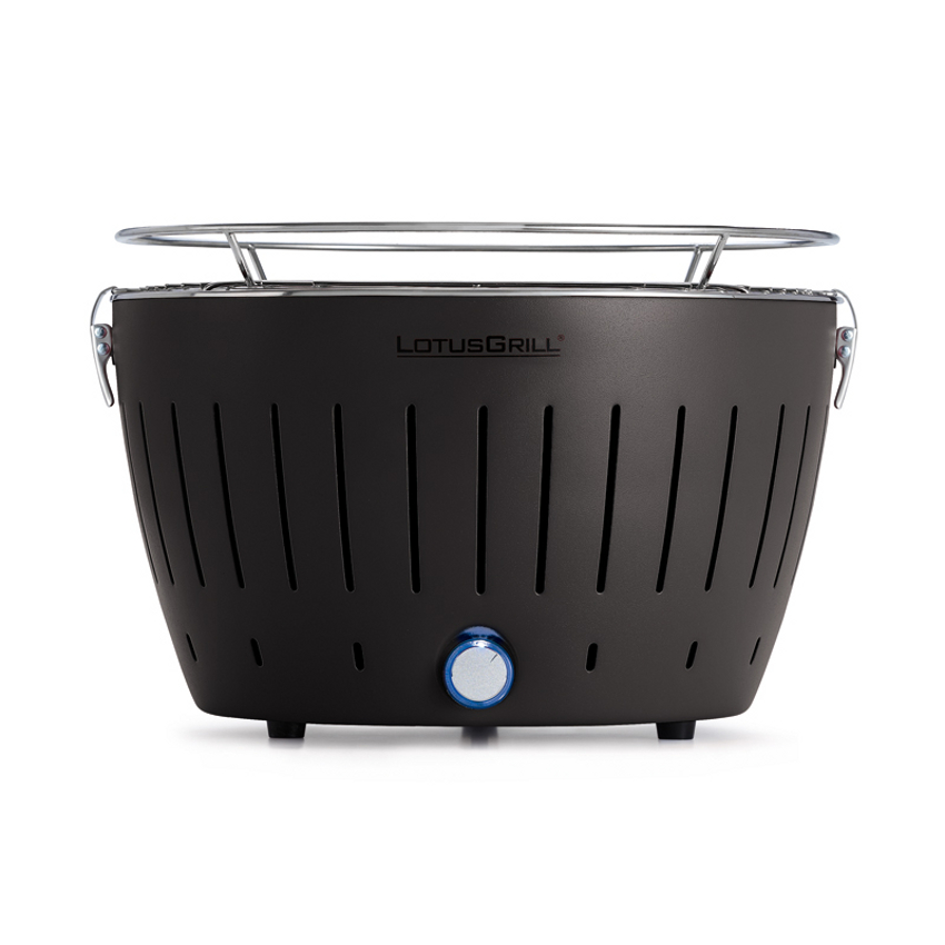 LotusGrill Anthrazit Grey Smokeless Charcoal Grill With Transport Bag