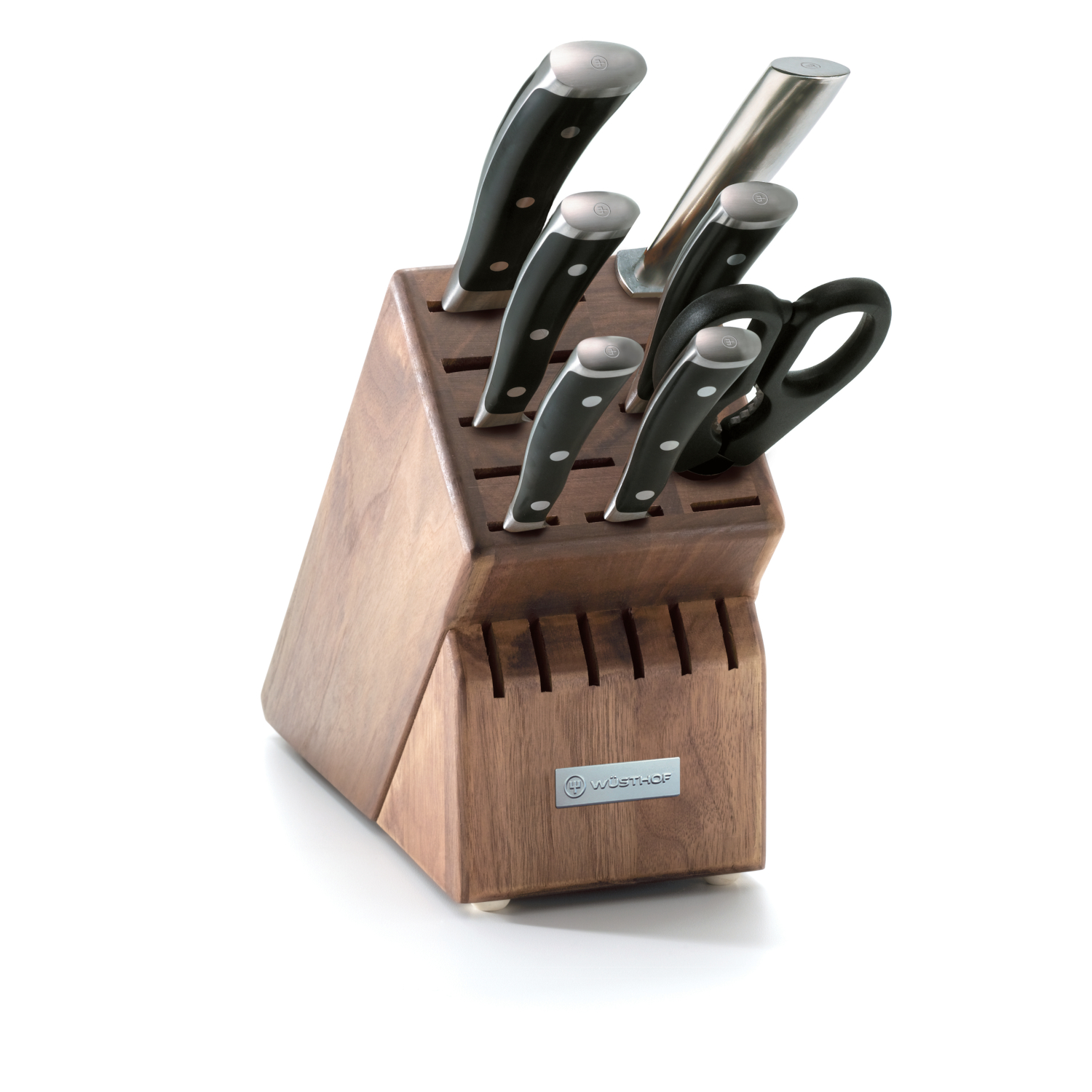 Wusthof Classic Ikon 8 Piece Walnut Block Set