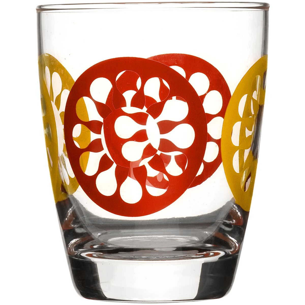 Sagaform Juicy 12.75 Ounces Red Drinking Glasses, Set of 4