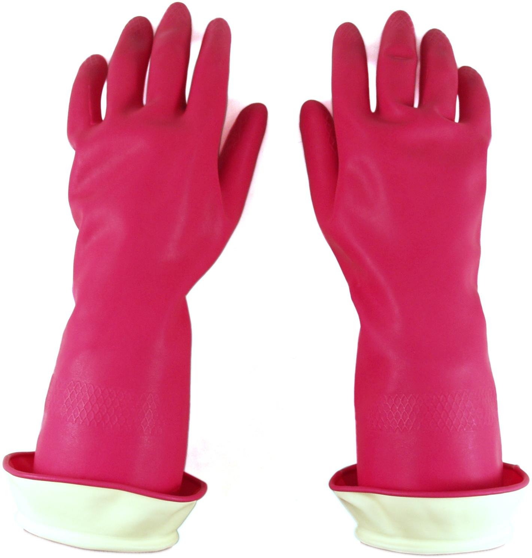 Casabella Pink Water Stop Premium Medium Gloves