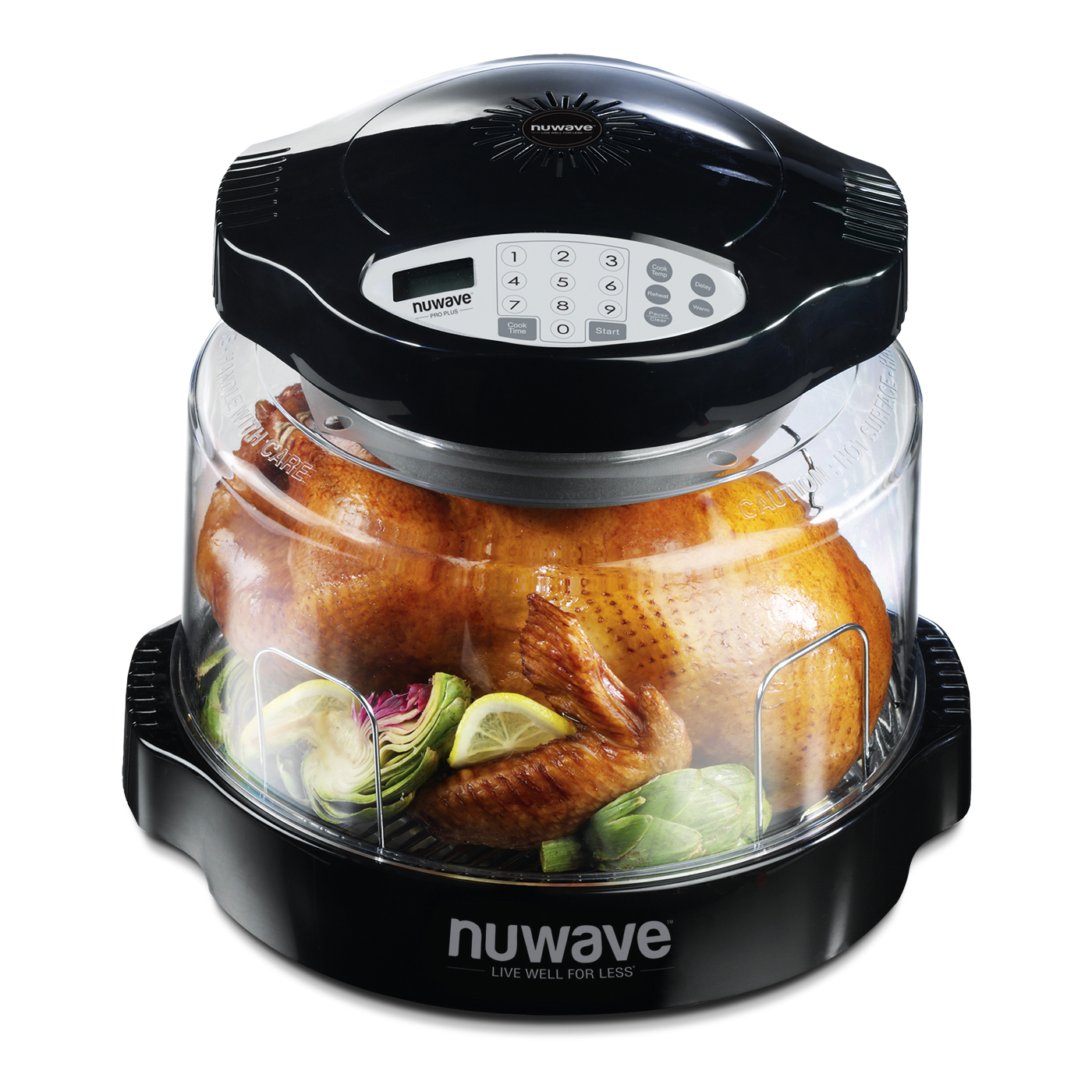 NuWave Oven Pro Plus with Black Digital Panel