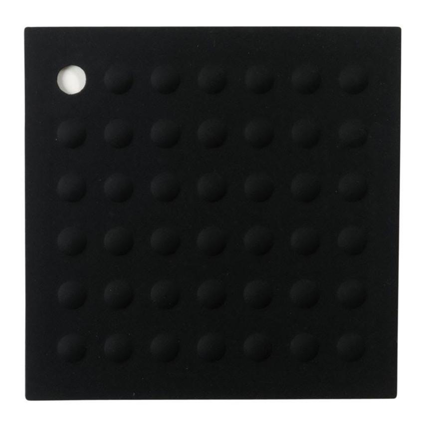 Lamson Black Silicone Original HotSpot 7 Inch Trivet