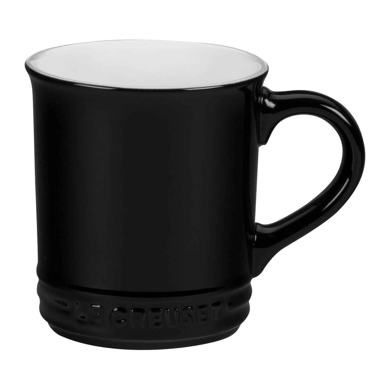 Le Creuset Black Onyx Stoneware 12 Ounce Mug