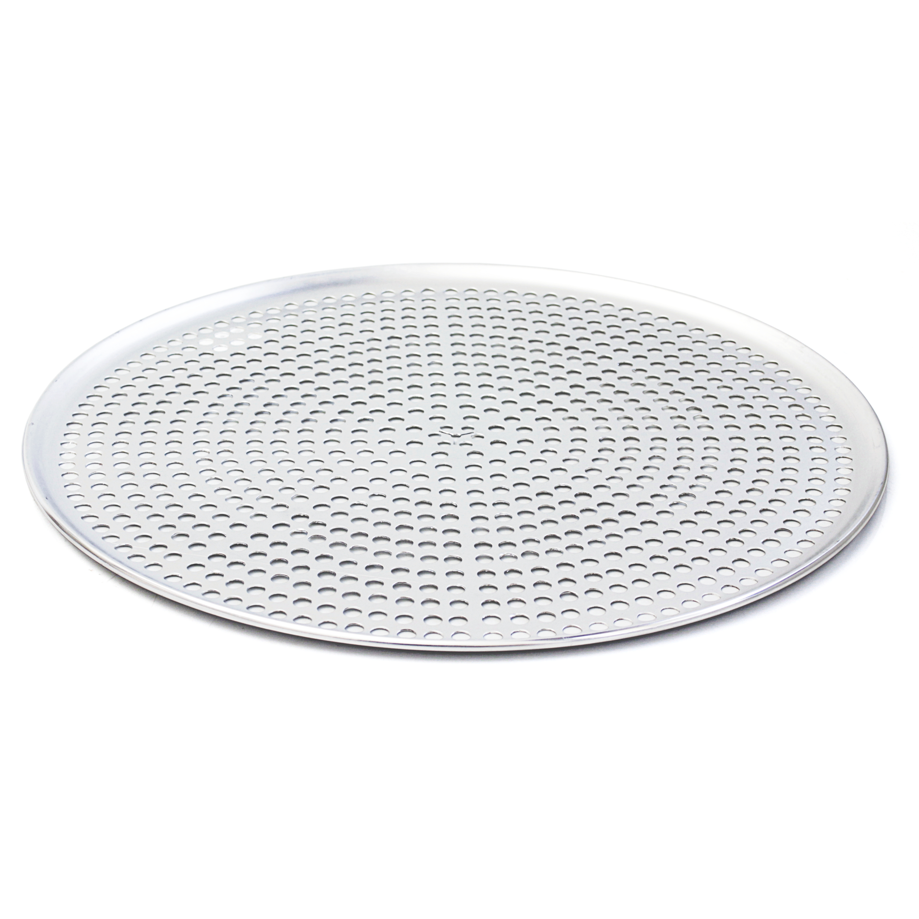 Browne Basics Aluminum Perforated Pizza Tray, 16 Inch