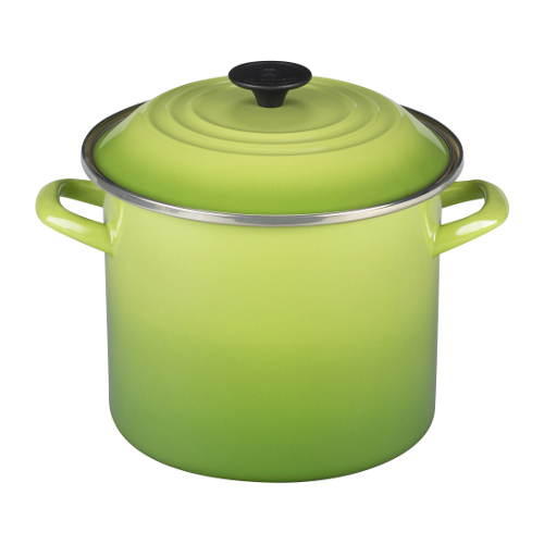 Le Creuset Palm Enamel on Steel 8 Quart Stockpot
