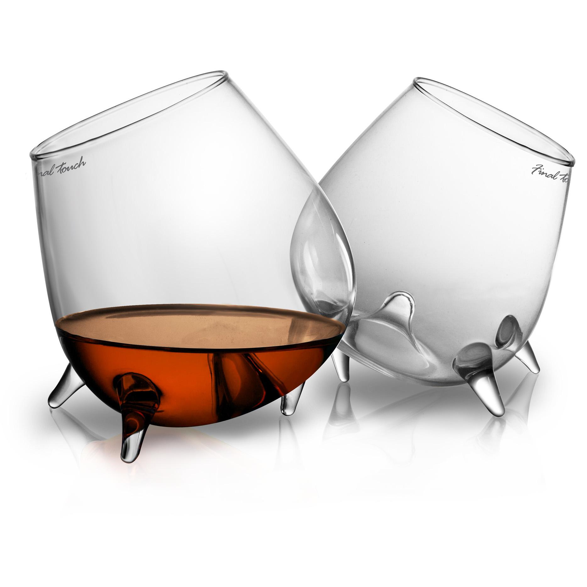 Final Touch Relax Cognac Glass, Set of 2