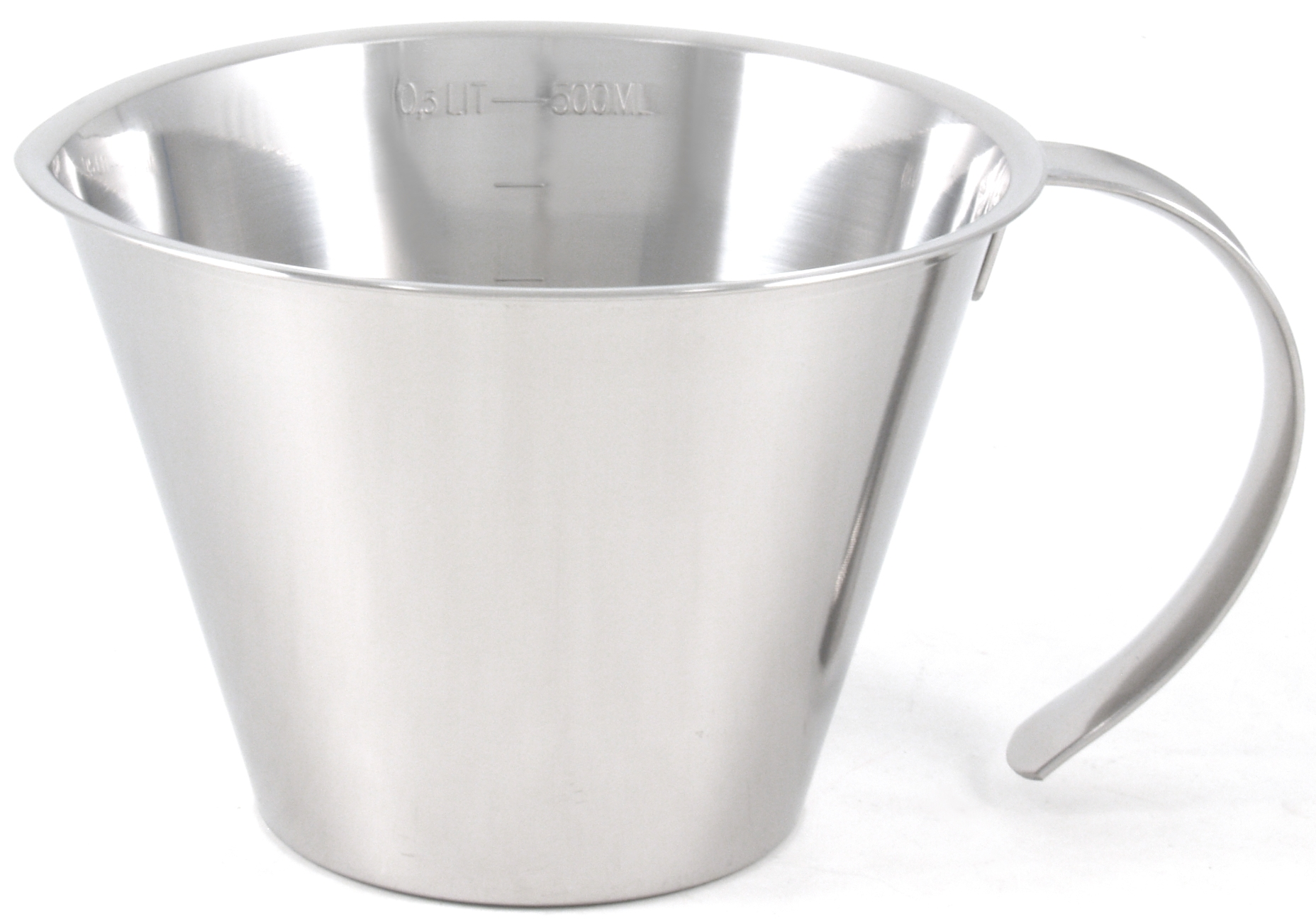 Linden Sweden 2 Cup Stainless Steel Measuring Cup