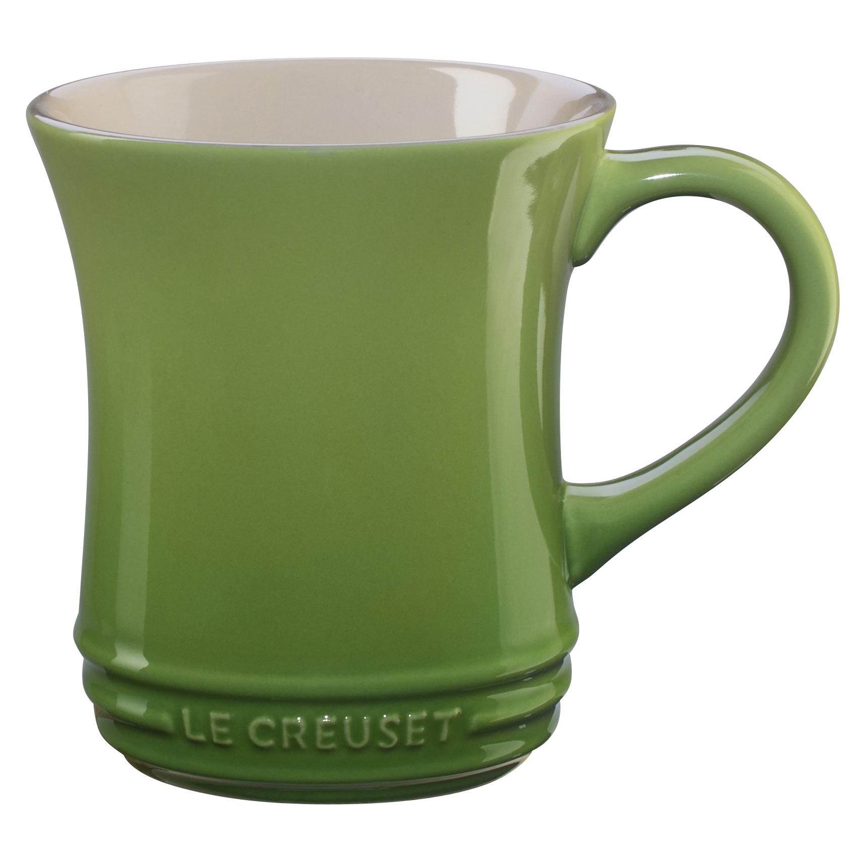 Le Creuset Palm Stoneware Tea Mug, 14 Ounce