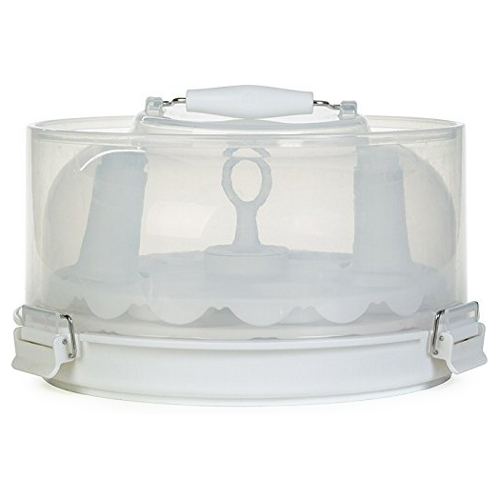 Progressive PL8 White Collapsible Cupcake Carrier and Display Set