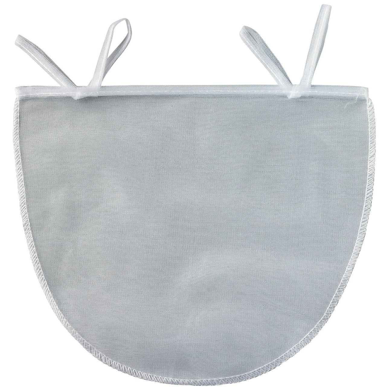White Polyester Mesh Nut Milk Bag