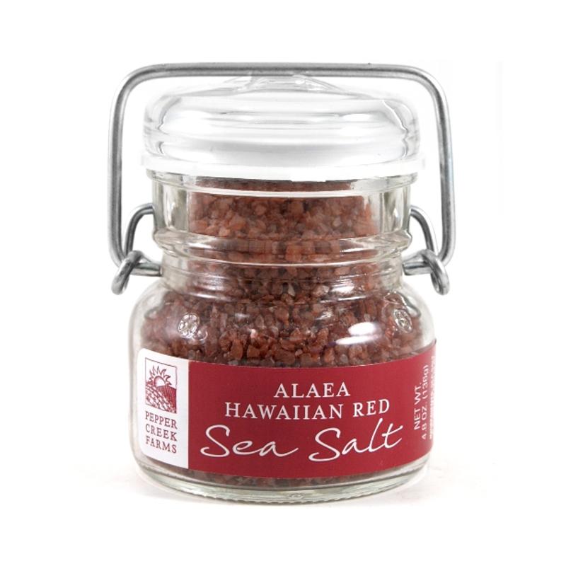 Pepper Creek Farms Alaea Hawaiian Red Sea Salt 4.8 OuncesFarms