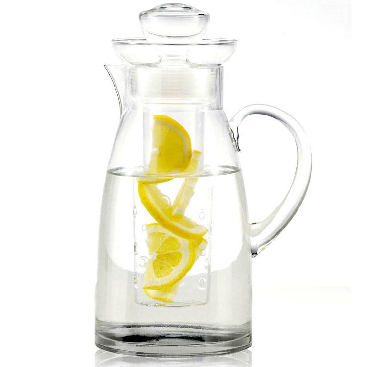 Artland Simplicity Glass Flavor-Infusing Pitcher, 78 Ounce
