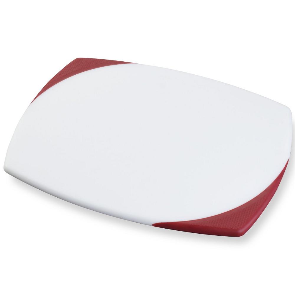 KitchenAid Pro Series White Nonslip Polypropylene Cutting Board, 11 x 14 inch