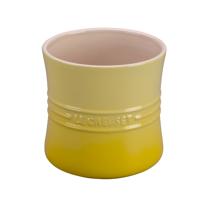 Le Creuset Soliel Yellow Stoneware Utensil Crock, 2.75 Quart