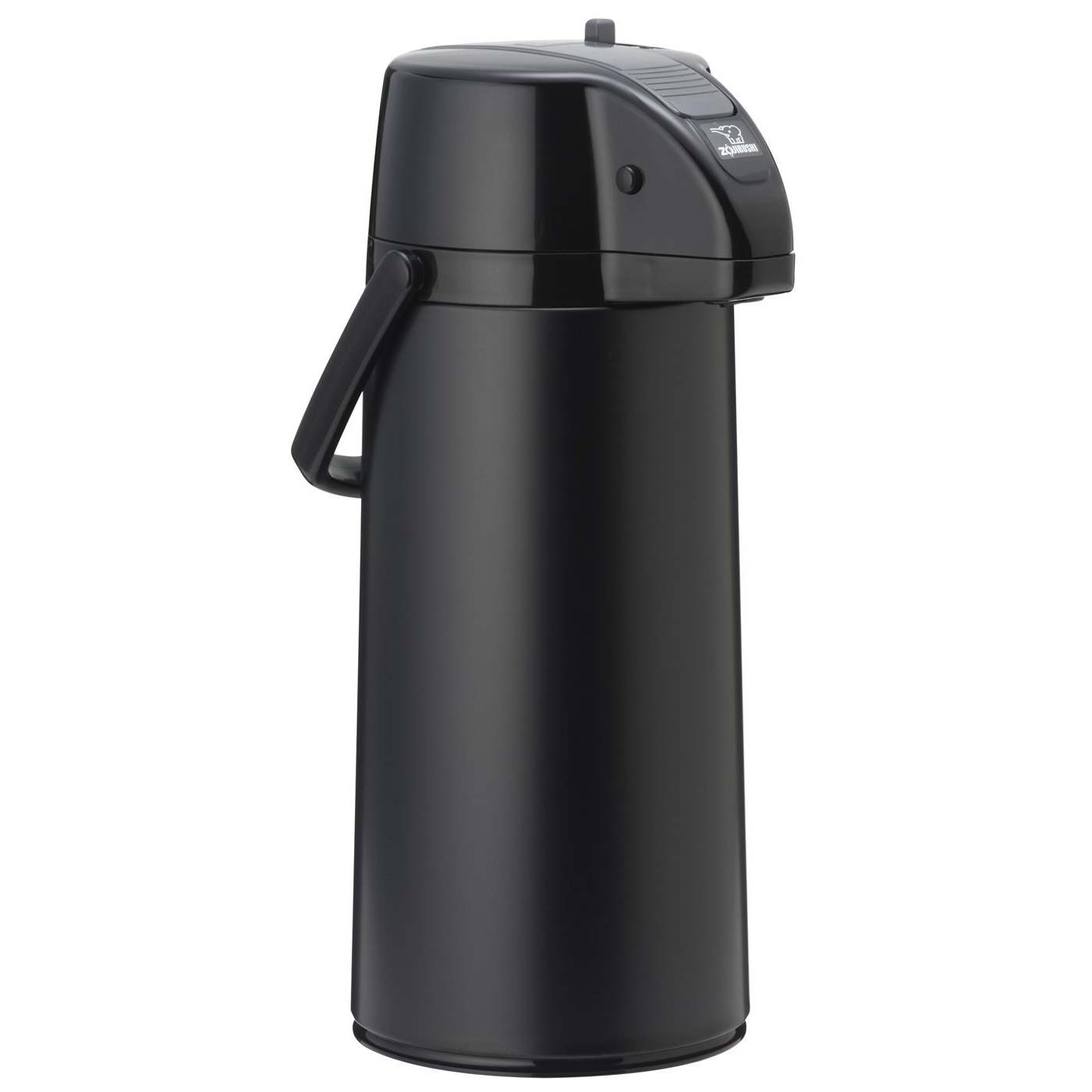 Zojirushi Matte Black Lever Airpot with Brew Thru Stem Stopper, 2.1 Liter