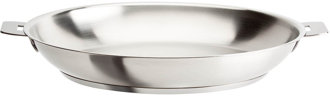 Cristel Strate L Stainless Steel 10 Inch Frying Pan
