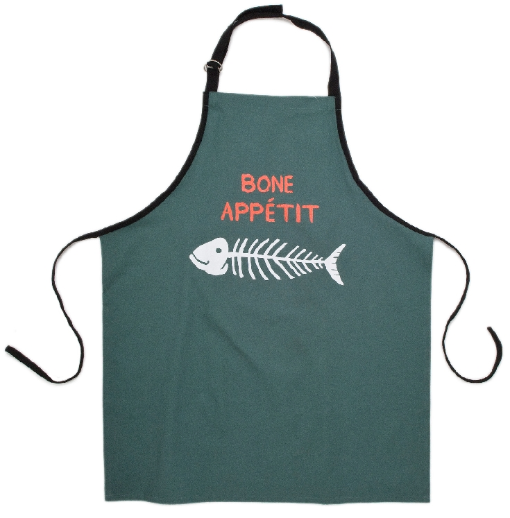 Hatley Bone Appetit Cotton Apron