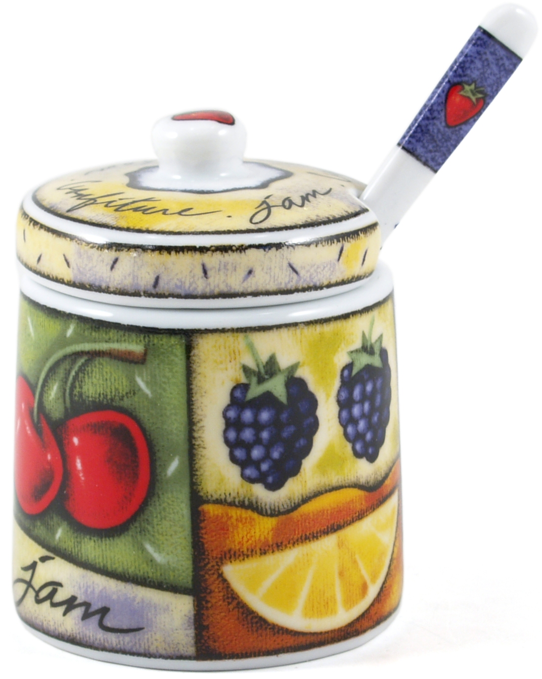 Jo!e Uptown Market Jam Jar and Spoon Set
