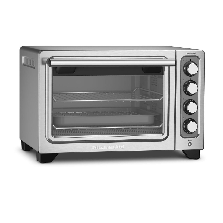 KitchenAid Contour Silver Standard Countertop Compact Oven