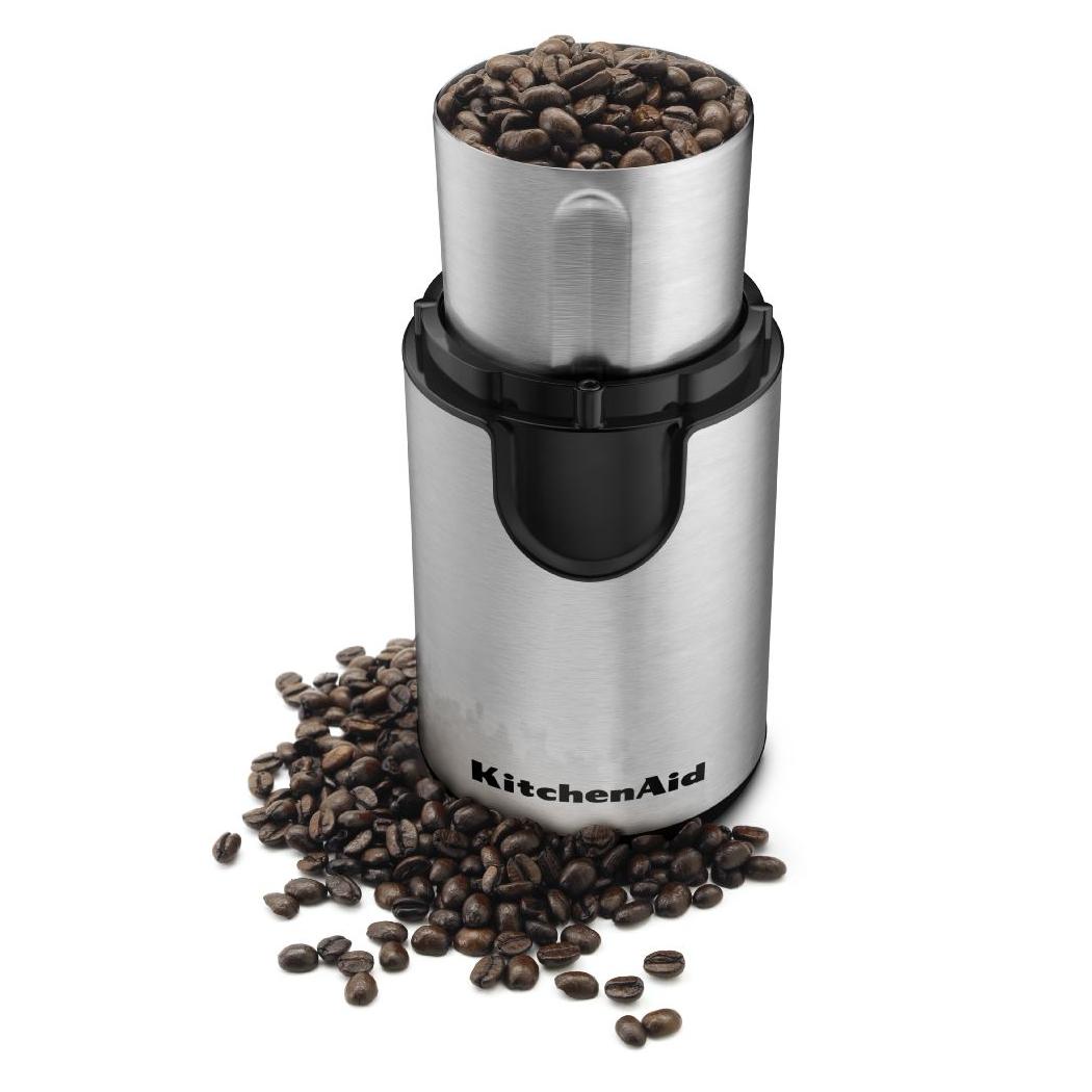 KitchenAid Stainless Steel Blade Onyx Black Coffee Grinder