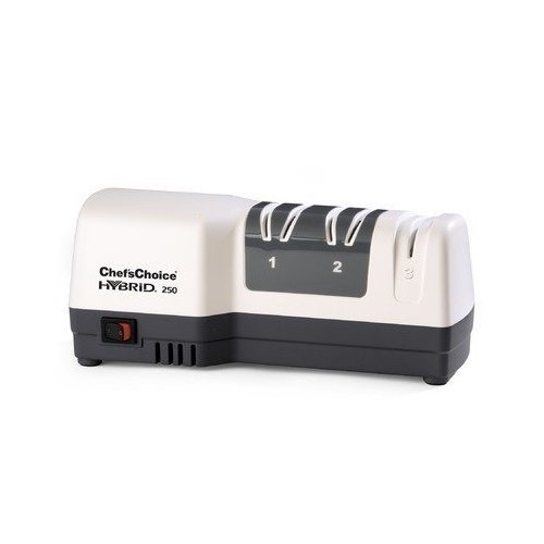 Chef's Choice M250 White Electric Diamond Hone Hybrid Knife Sharpener