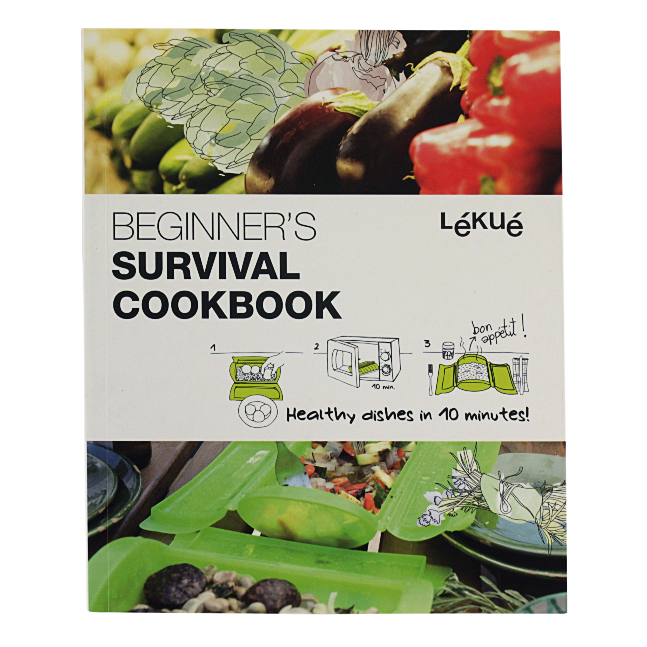 BEGINNER'S SURVIVAL GUIDE COOKBOOK