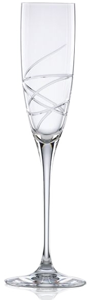 L by Lenox Adoration Crystal Champagne Flute