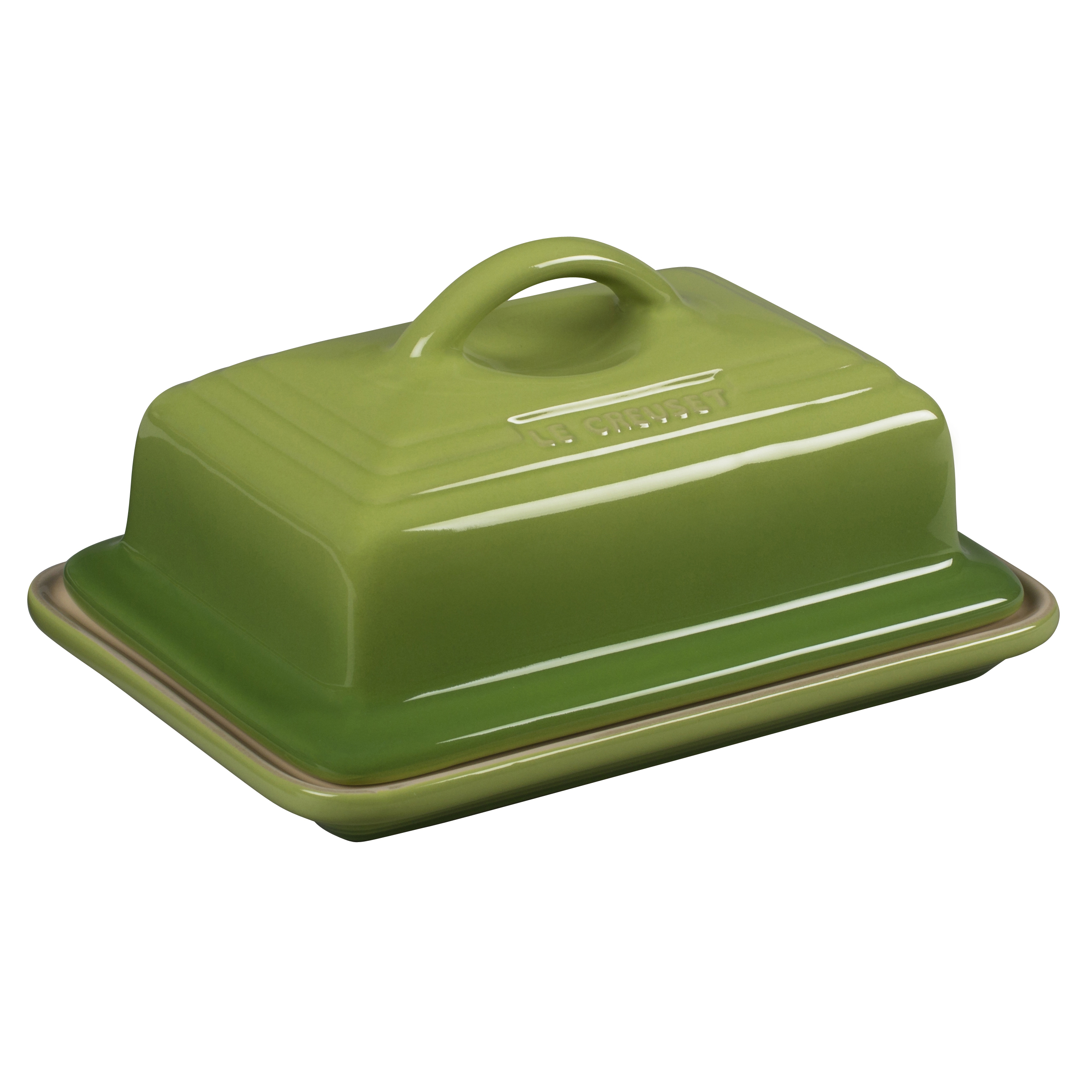Le Creuset Heritage Palm Stoneware Butter Dish