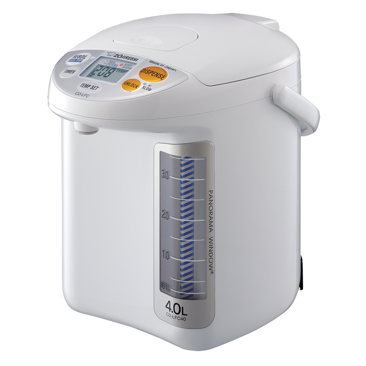 Zojirushi Micom Panorama White 135 Ounce Water Boiler and Warmer
