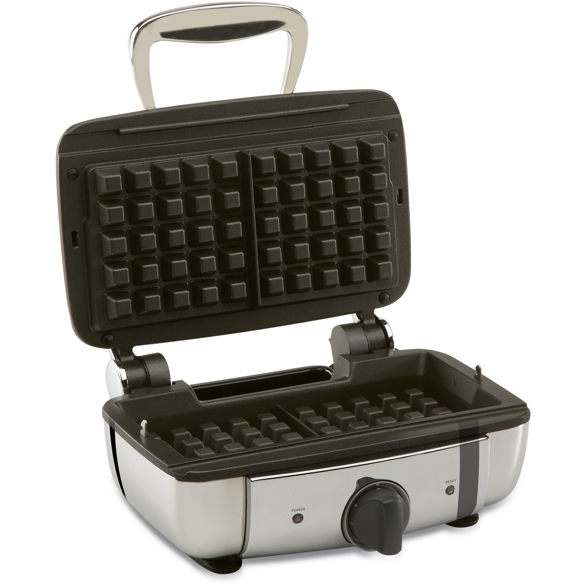 All-Clad Stainless Steel Square 2-Slice Belgian Waffle Maker
