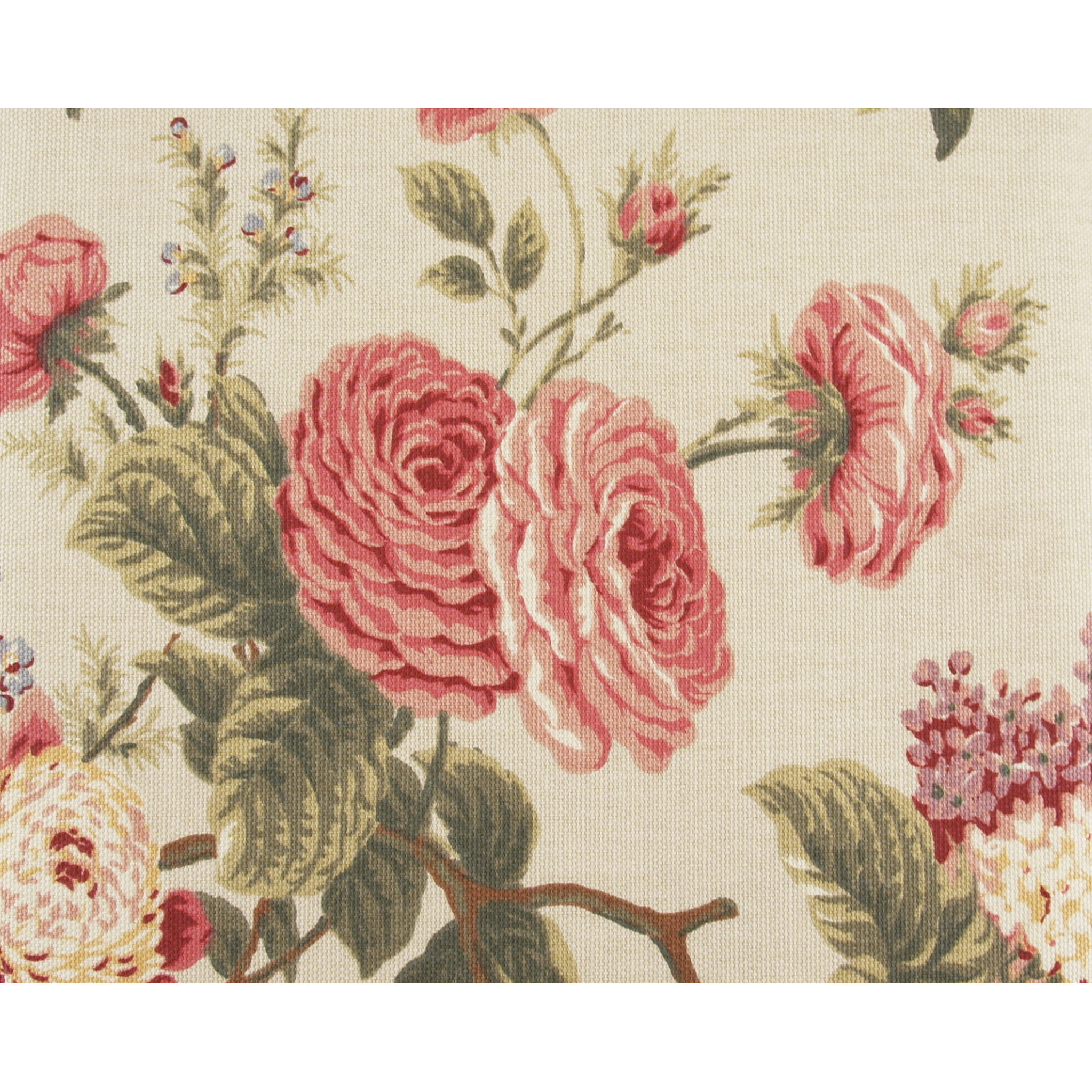 Waverly Brianna Floral Fabric Tablecloth Oblong 70x108