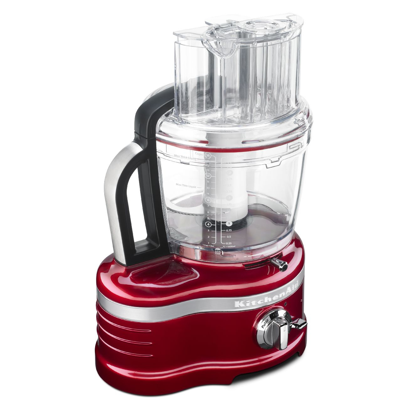 KitchenAid ProLine 16 Cup Candy Apple Red Food Processor with ExactSlice System