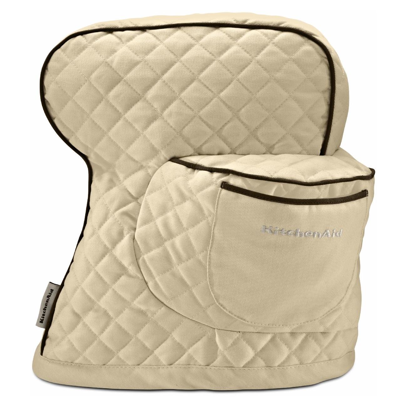 KitchenAid Khaki 100% Cotton Fitted Stand Mixer Cover