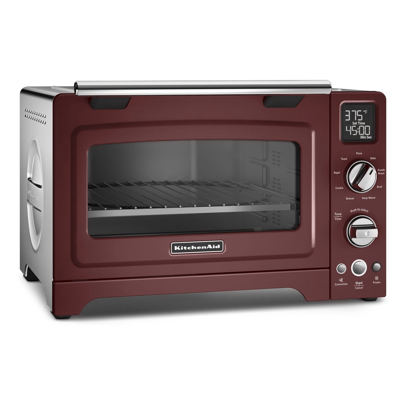 KitchenAid Gloss Cinnamon Digital Convection Oven