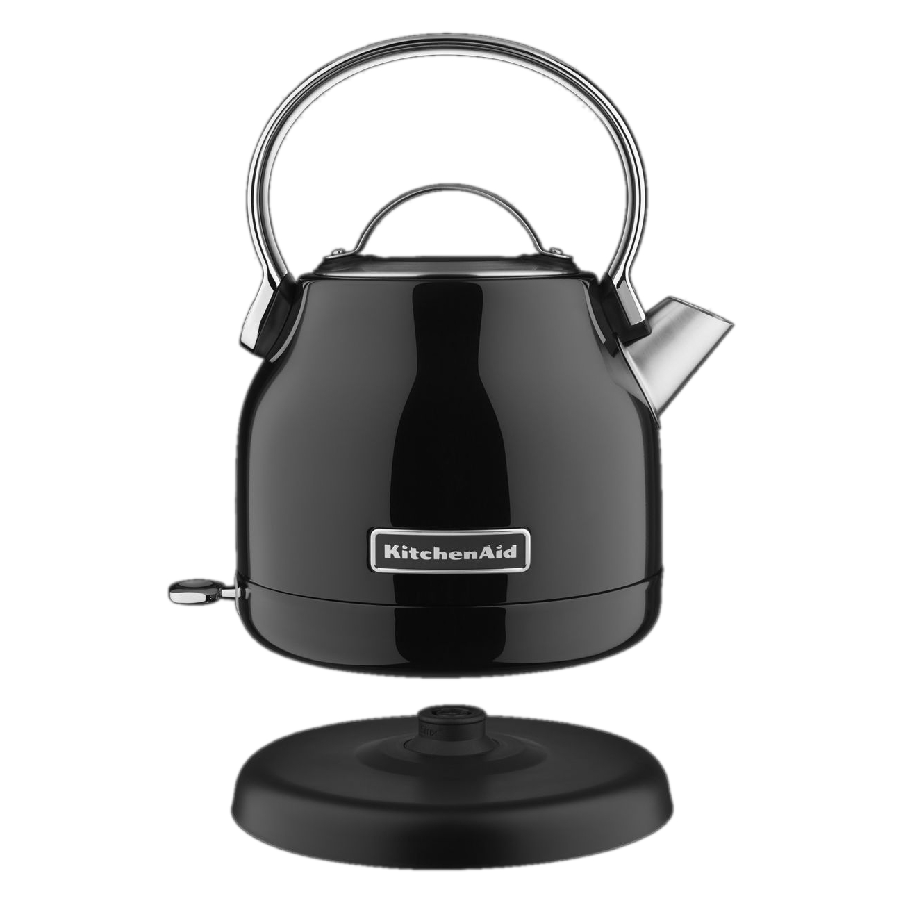 KitchenAid Onyx Black Stainless Steel 1.25 Liter Electric Kettle