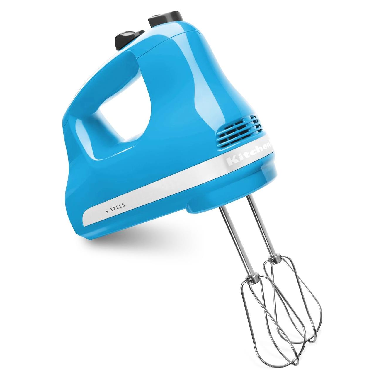 KitchenAid Ultra Power Crystal Blue 5 Speed Hand Mixer